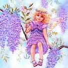 WISTERIA FAIRY by Judy Mastrangelo