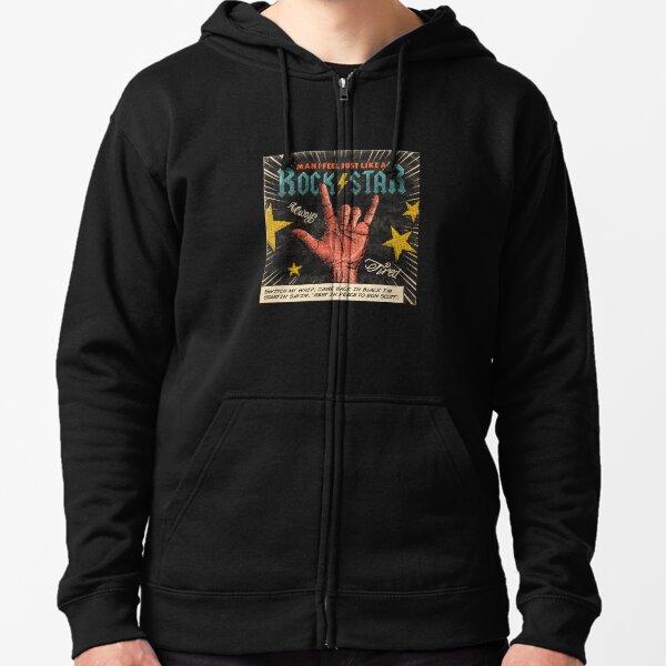 Old Glory Vitruvian Man Mens Sweatshirt