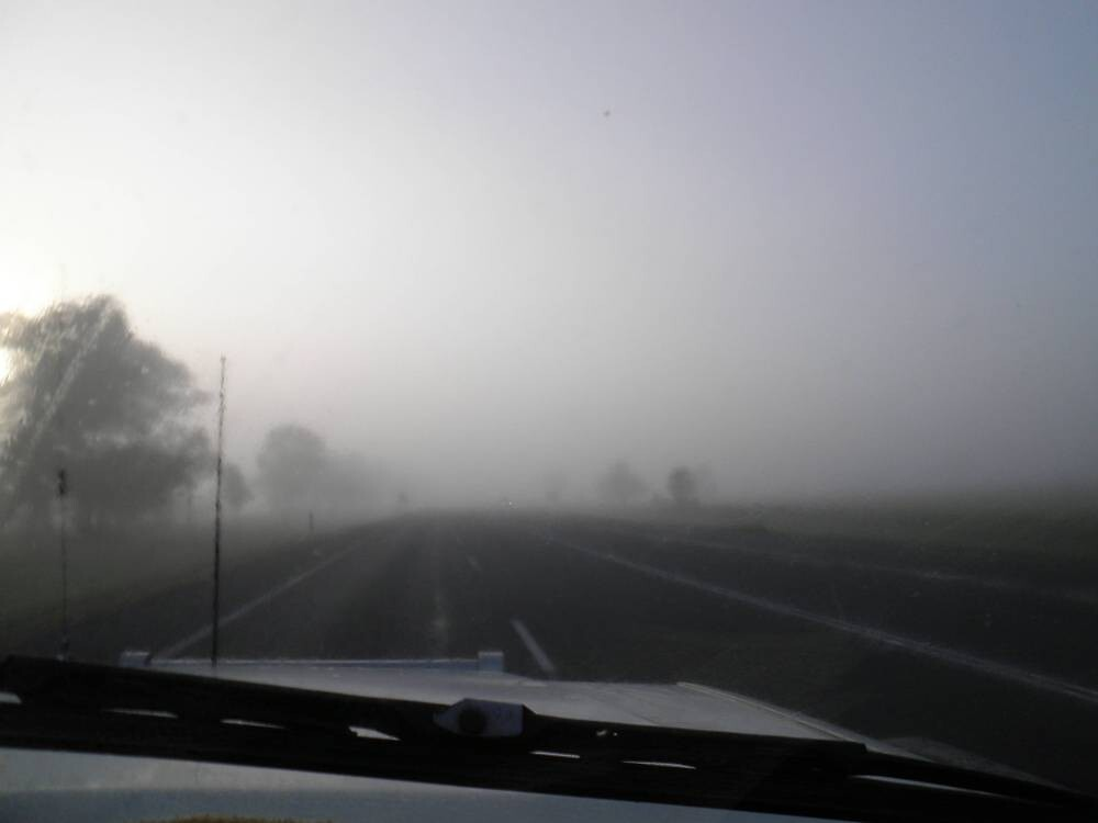 Friday Morning - Between Gracemere and Rockhampton, QLD Australia by Gryphonn