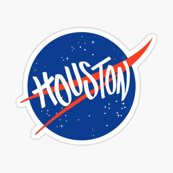 Space City - Houston NASA design Sticker