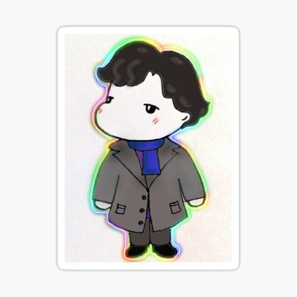 Sherlock doodle Sticker