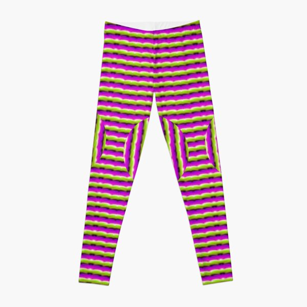 Op art - art movement, short for optical art, is a style of visual art that uses optical illusions Leggings