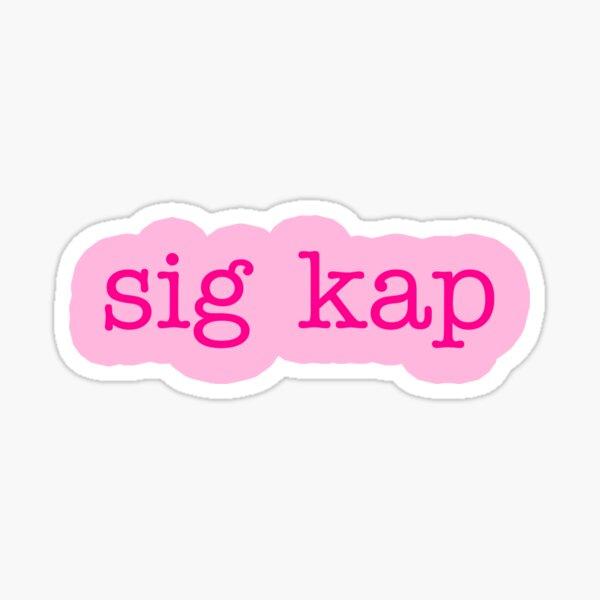 pinky sk Sticker