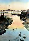 Bosham Evening Light by Ann Mortimer