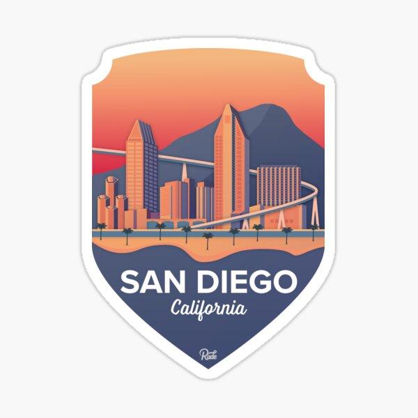 San Diego Badge Sticker