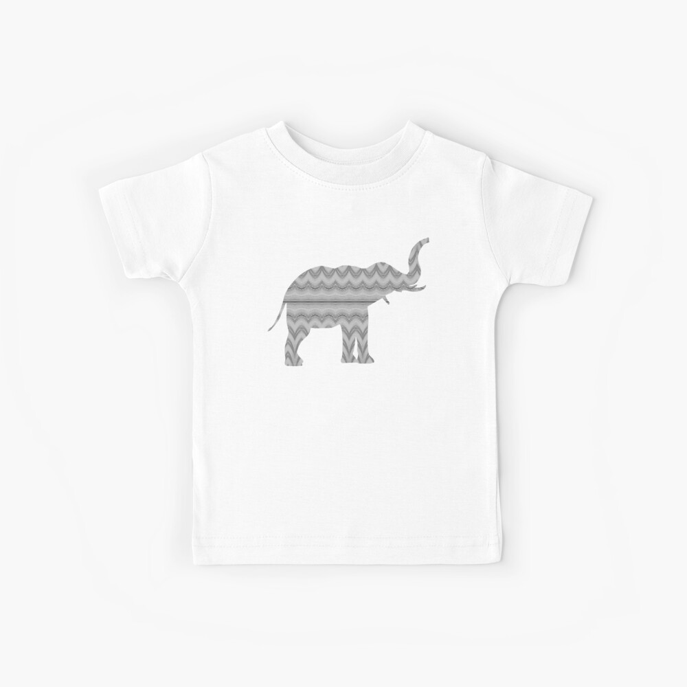 Grauer Faux-Tüll-Entwurf Kinder T-Shirt