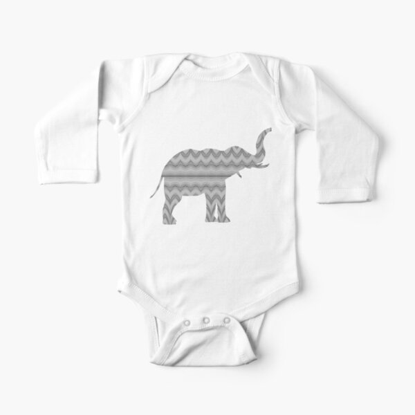 Grey Faux Tulle Design Long Sleeve Baby One-Piece
