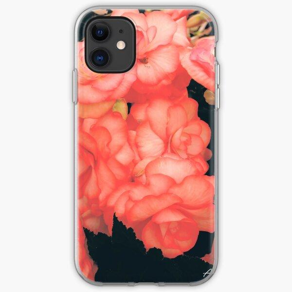 Garden Rose iPhone Soft Case