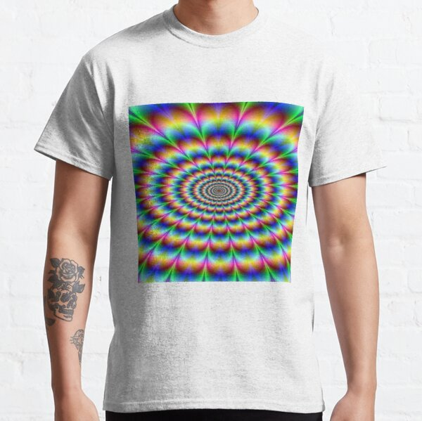 #Op #art - art movement, short for #optical art, is a style of #visual art that uses optical illusions Classic T-Shirt
