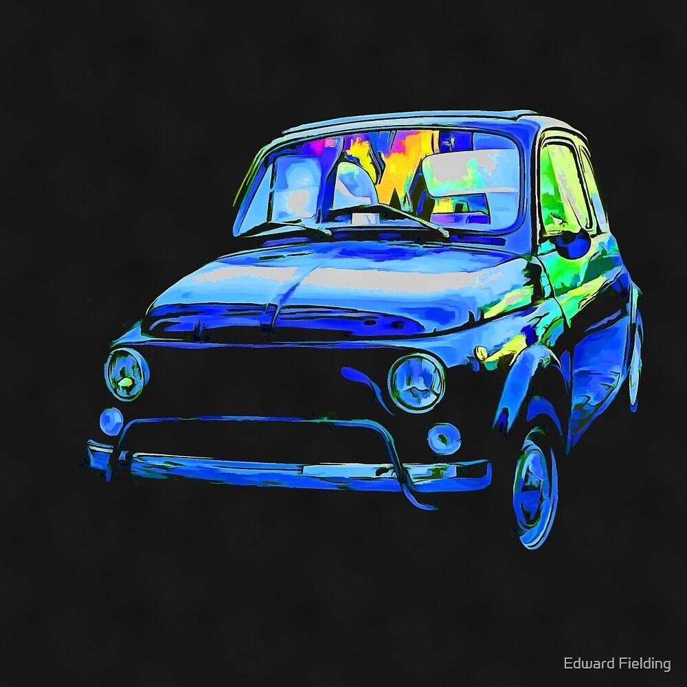 Fiat 500 Pop Art by Edward Fielding