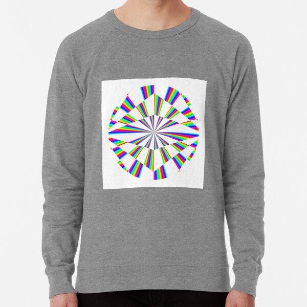 #Op #art - art movement, short for #optical art, is a style of #visual art that uses optical illusions Lightweight Sweatshirt