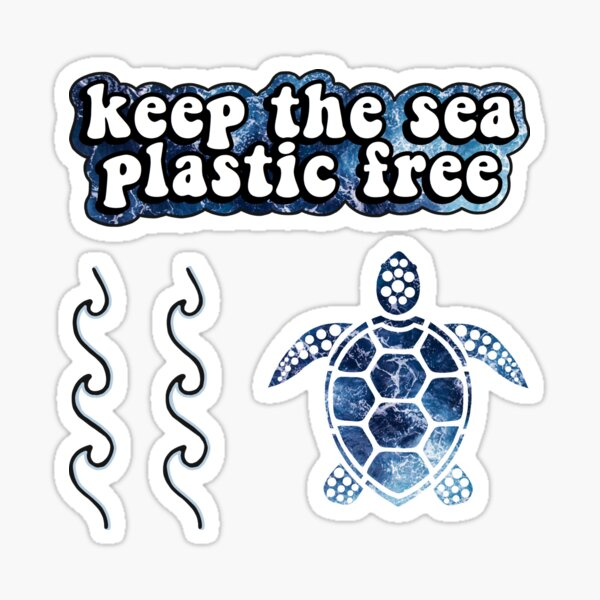 Save the Oceans Pack #2 Sticker