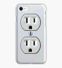 Electrical Outlet - Type B iPhone Case/Skin