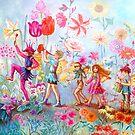 PARADE OF FLOWERS by Judy Mastrangelo
