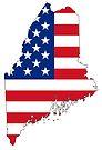 Maine, USA by Sun Dog Montana
