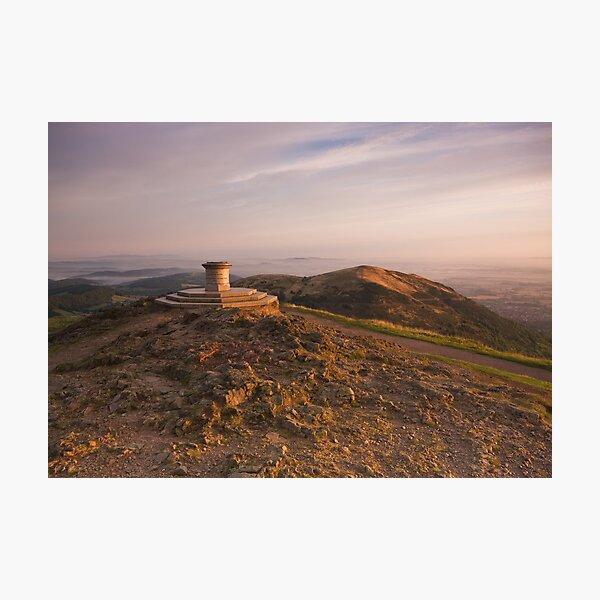 The Beacon - The Malvern Hills Photographic Print