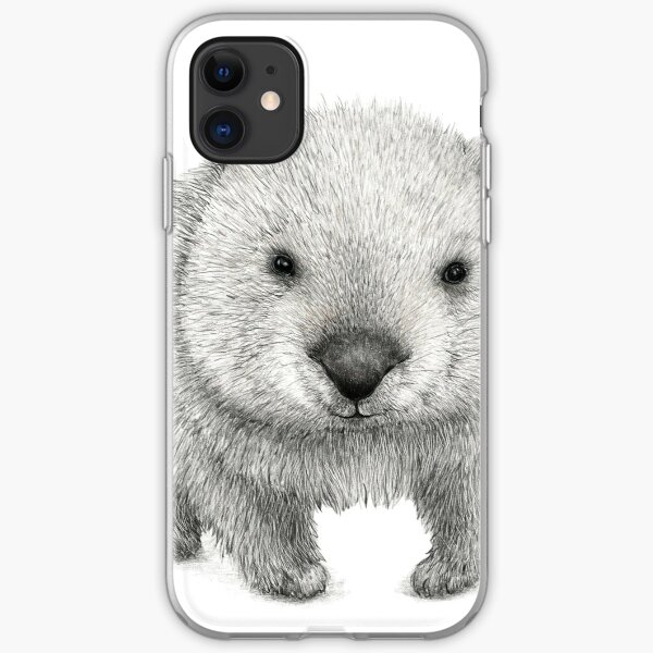 Wombat Australia iPhone Soft Case