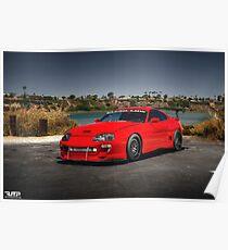 Toyota Supra MK4 Poster