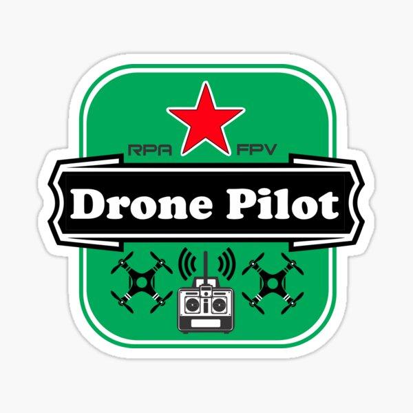 Drone Pilot RPA FPV Pegatina