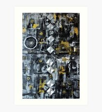 """Beyond Metallurgica Art Print"