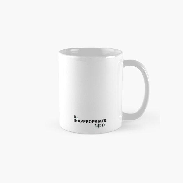Don't make me use my teacher voice Classic Mug