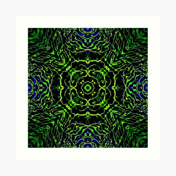 Op art - art movement, short for optical art, is a style of visual art that uses optical illusions Art Print