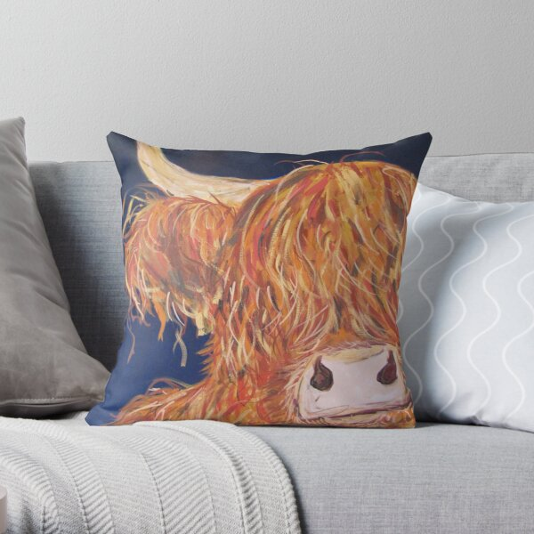 Sulley Throw Pillow