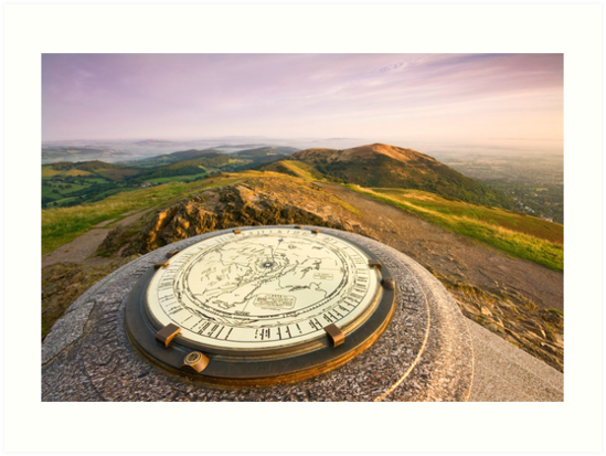 The malvern hills worcestershire beacon art prints by angie the malvern hills worcestershire beacon by angie latham solutioingenieria Gallery