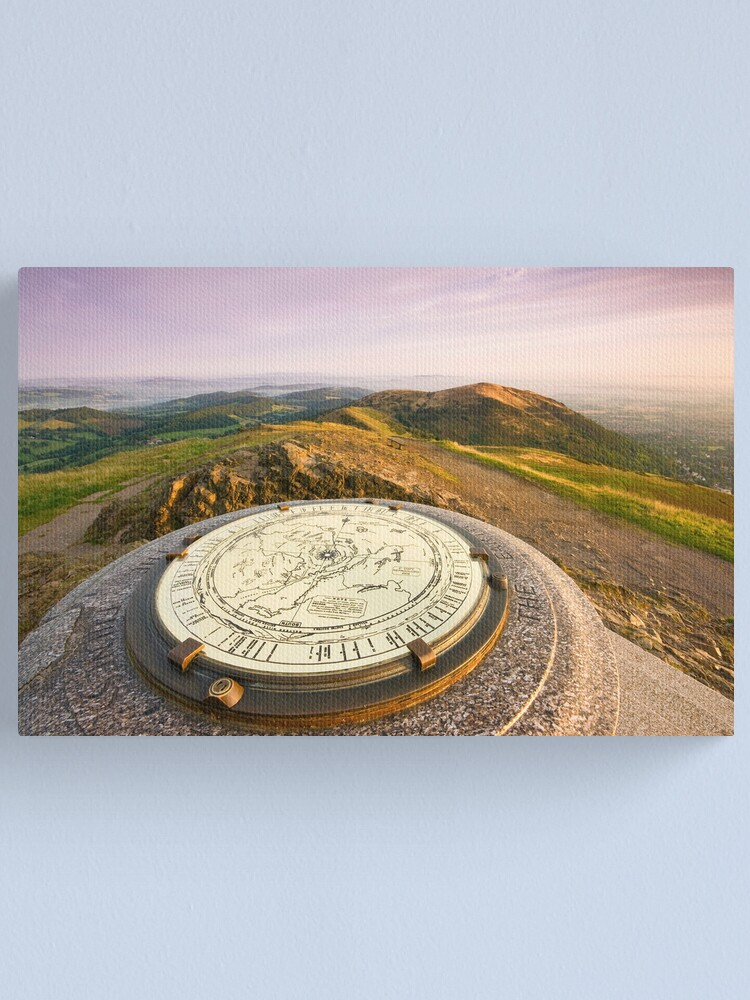 Alternate view of The Malvern Hills : Worcestershire Beacon Canvas Print