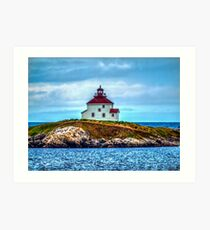 Queensport Lighthouse Art Print