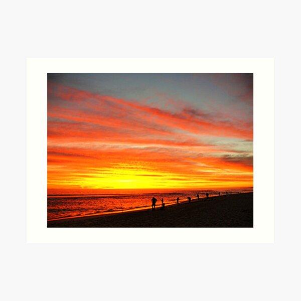 Yanchep Beach Lagoon     Western Australia Art Print