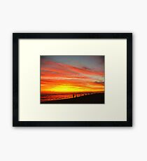 Yanchep Beach Lagoon     Western Australia Framed Print