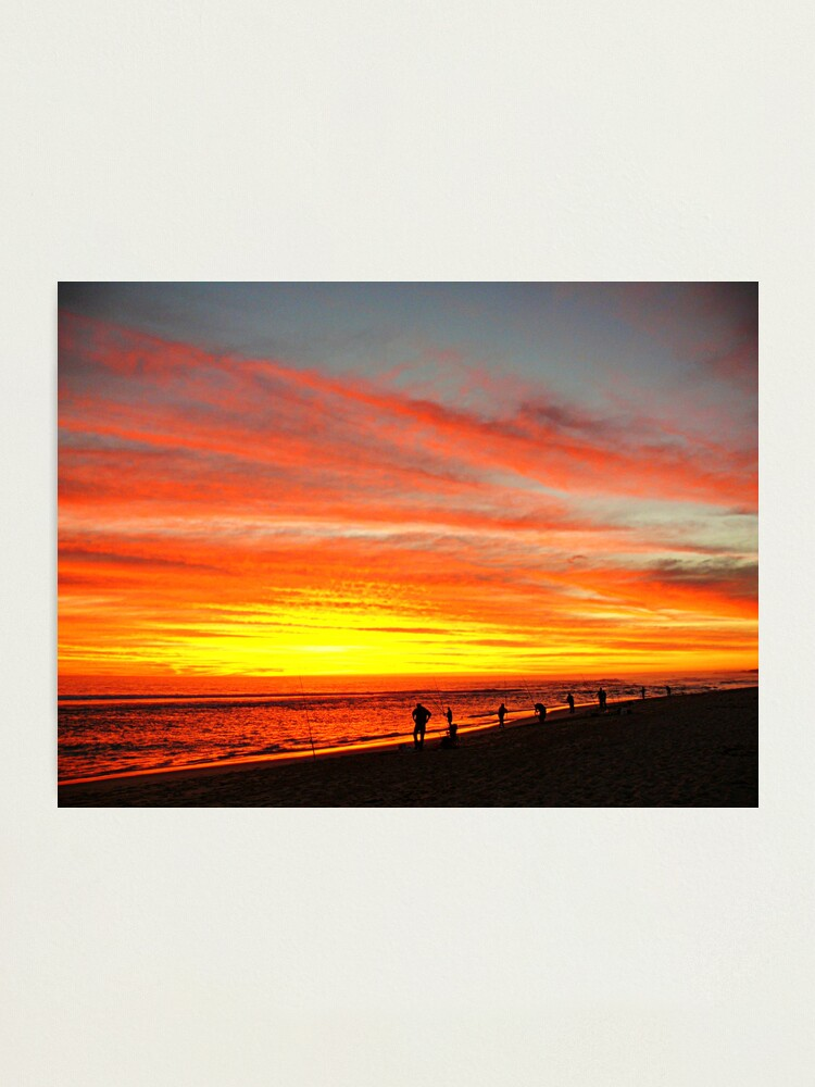 Alternate view of Yanchep Beach Lagoon     Western Australia Photographic Print