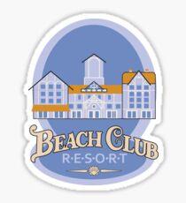 Beach Club Sticker