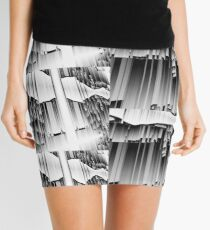 Cascading Mini Skirt