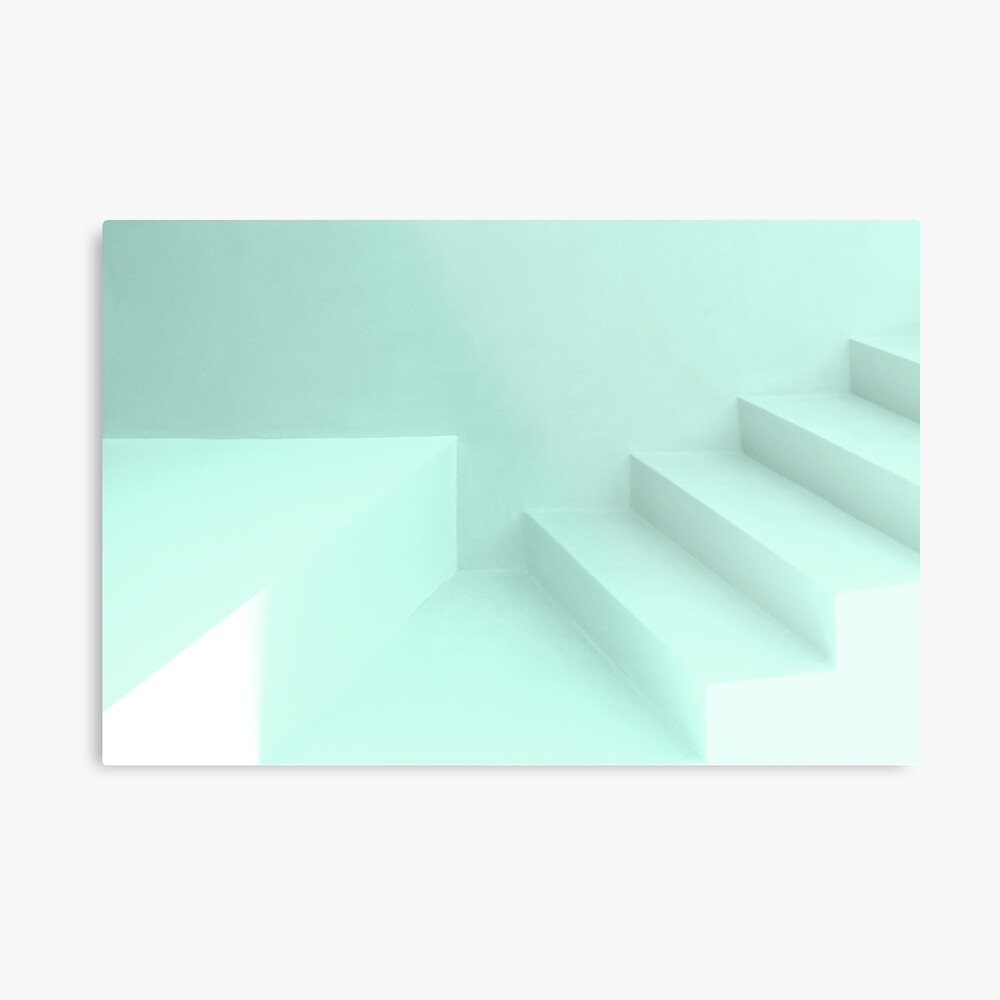 where the stairs do not lead Metal Print