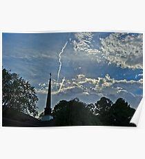 Sky over Carmel Poster
