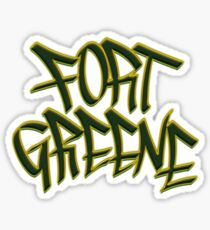 Fort Greene Glossy Sticker