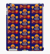 Dieting Makes me Hangery Joypixels Angry and Hungry Emoji iPad Case/Skin