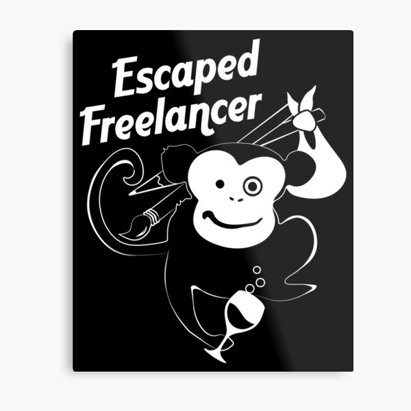 Escaped freelancer Metal Print