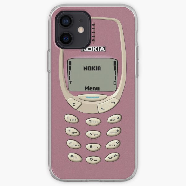NIKON 3320 Rose Gold iPhone Soft Case