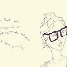Plum Specs- yeah that was me dressed as super GALACTICAL woman at the party... by Jaelah