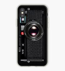 Vinilo o funda para iPhone LEICA M9 Negro