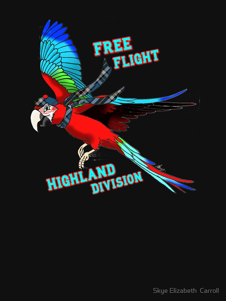 Free-Flight Highland Division by SkyeElizabeth