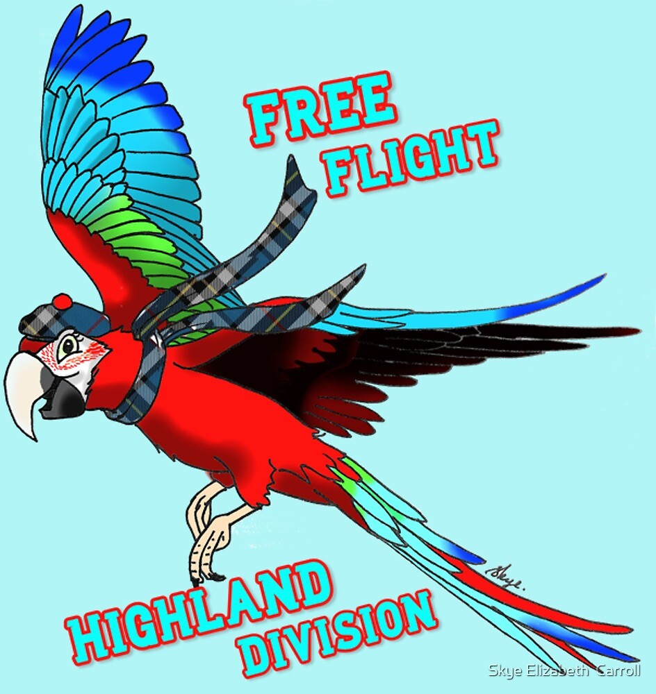 Free-Flight Highland Division by Skye Elizabeth  Tranter