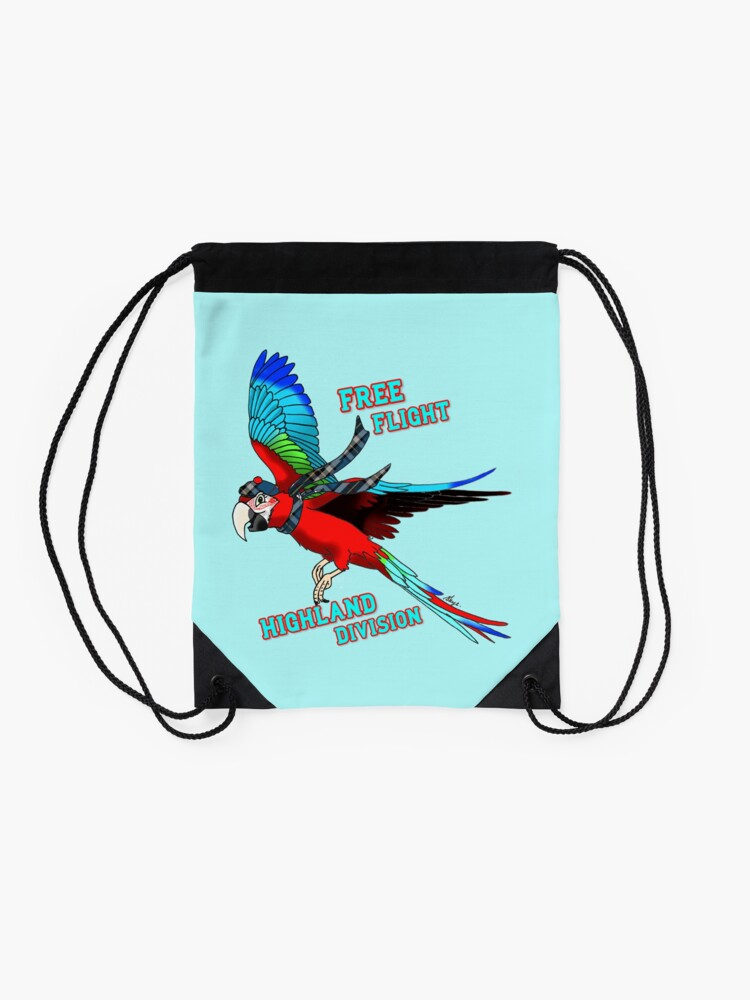 Alternate view of Free-Flight Highland Division Drawstring Bag