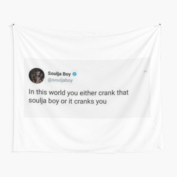 Soulja Boy Tweet Tapestry