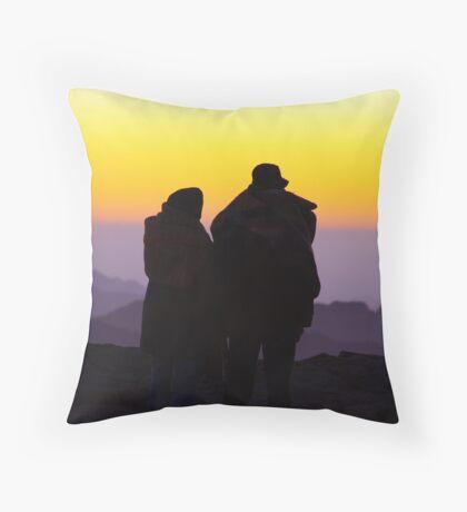 Sunrise: Mount Sinai Throw Pillow