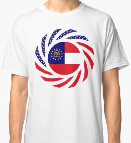 Georgian Murican Patriot Flag Series Classic T-Shirt