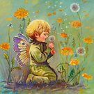 DANDELION ELF by Judy Mastrangelo